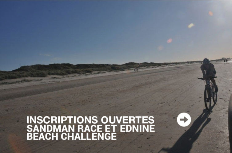 Inscriptions ouvertes Sandman Race & Ednine Beach Challenge